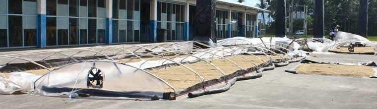 The Solar Bubble Dryer